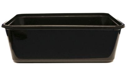 Magnetronbak | Spuitgiet | Zwart | 1000 ml | 500 stuks