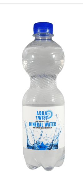Aqua Twist | Mineraalwater | 12 x 0,5 liter