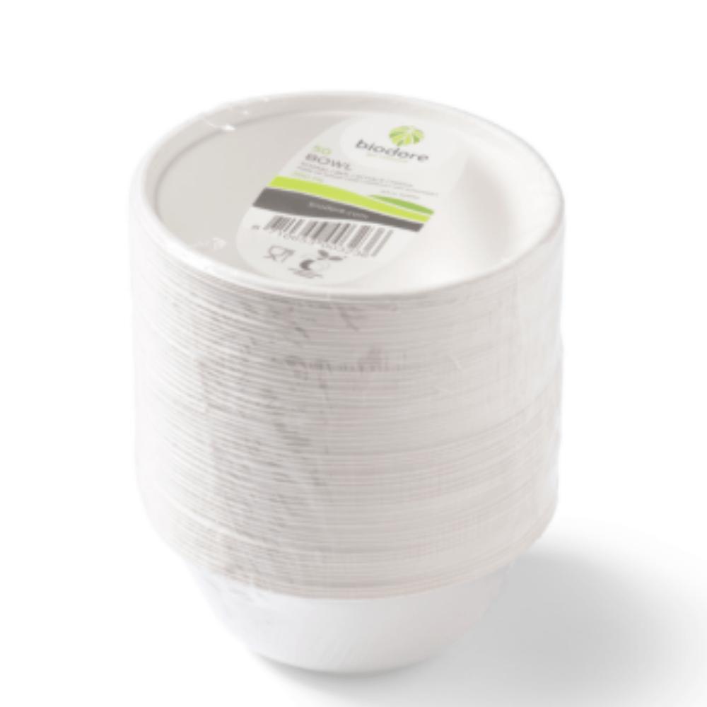 Biodore schaal 200 ml rond 10 x 50 stuks