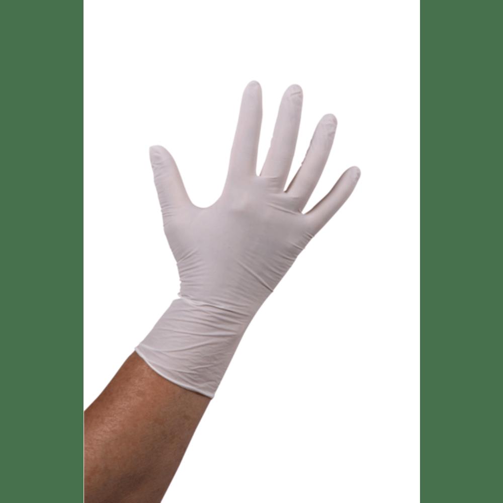 Comfort Handschoen Nitril ongepoederd M wit