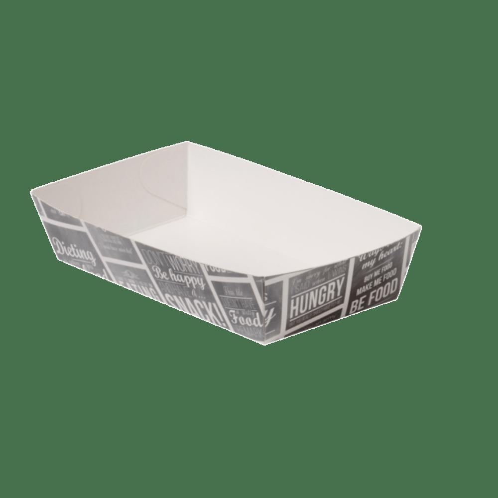 Bak Karton en coating 155 x 85 x 38 mm wit-grijs