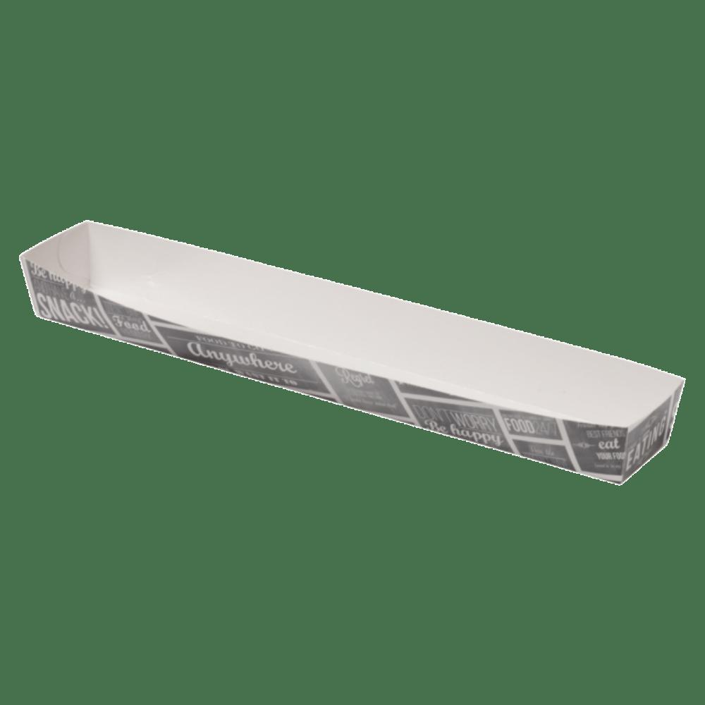 Bak Karton en coating 300 x 40 x 30 mmwit-grijs