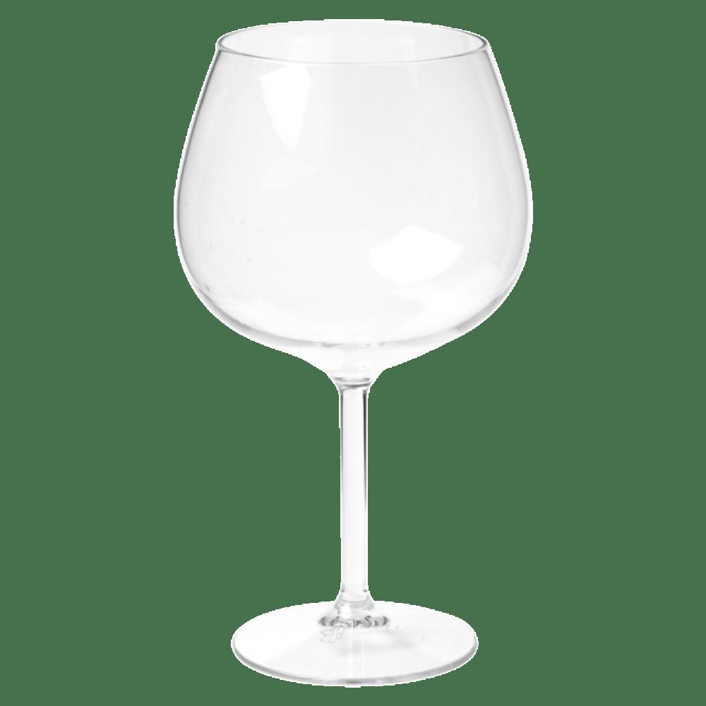 Glas wijnglas onbreekbaar Tritan durables 650 ml transparant