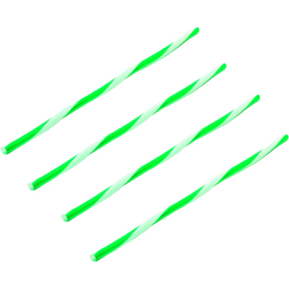 Rietje Drinkrietje PP 21 cm groen