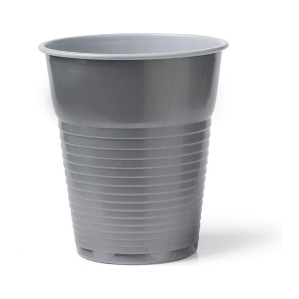 Automaatbeker 150 ml Evo zilver-wit 30 x 100 stuks
