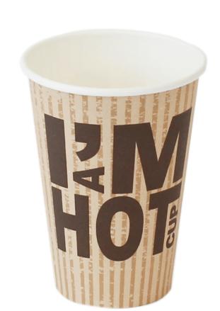 I'm a Hot Cup 180 ml 20 x 100 stuks