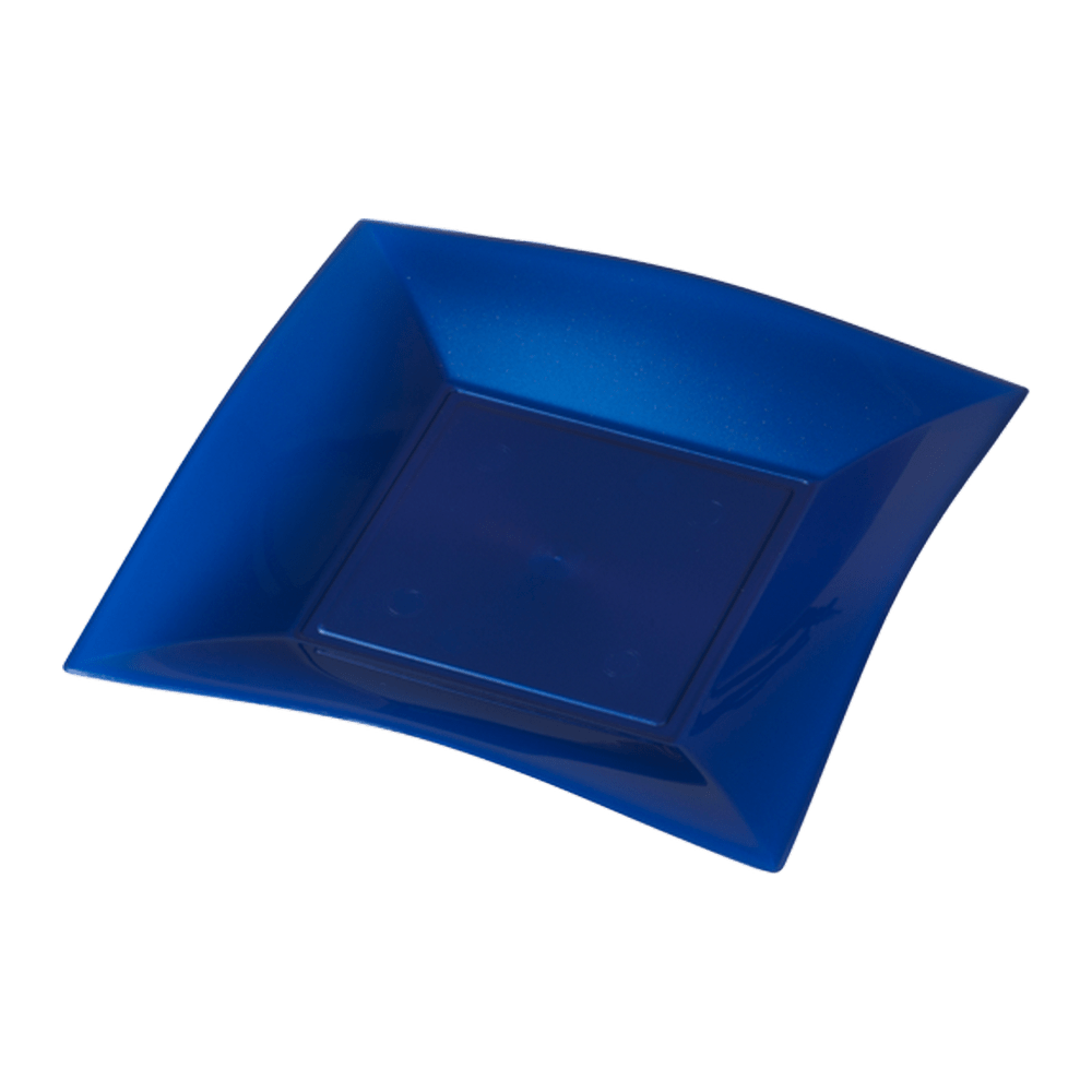 Bord Blauw Parelmoer 180 ml 12 x 25 stuks
