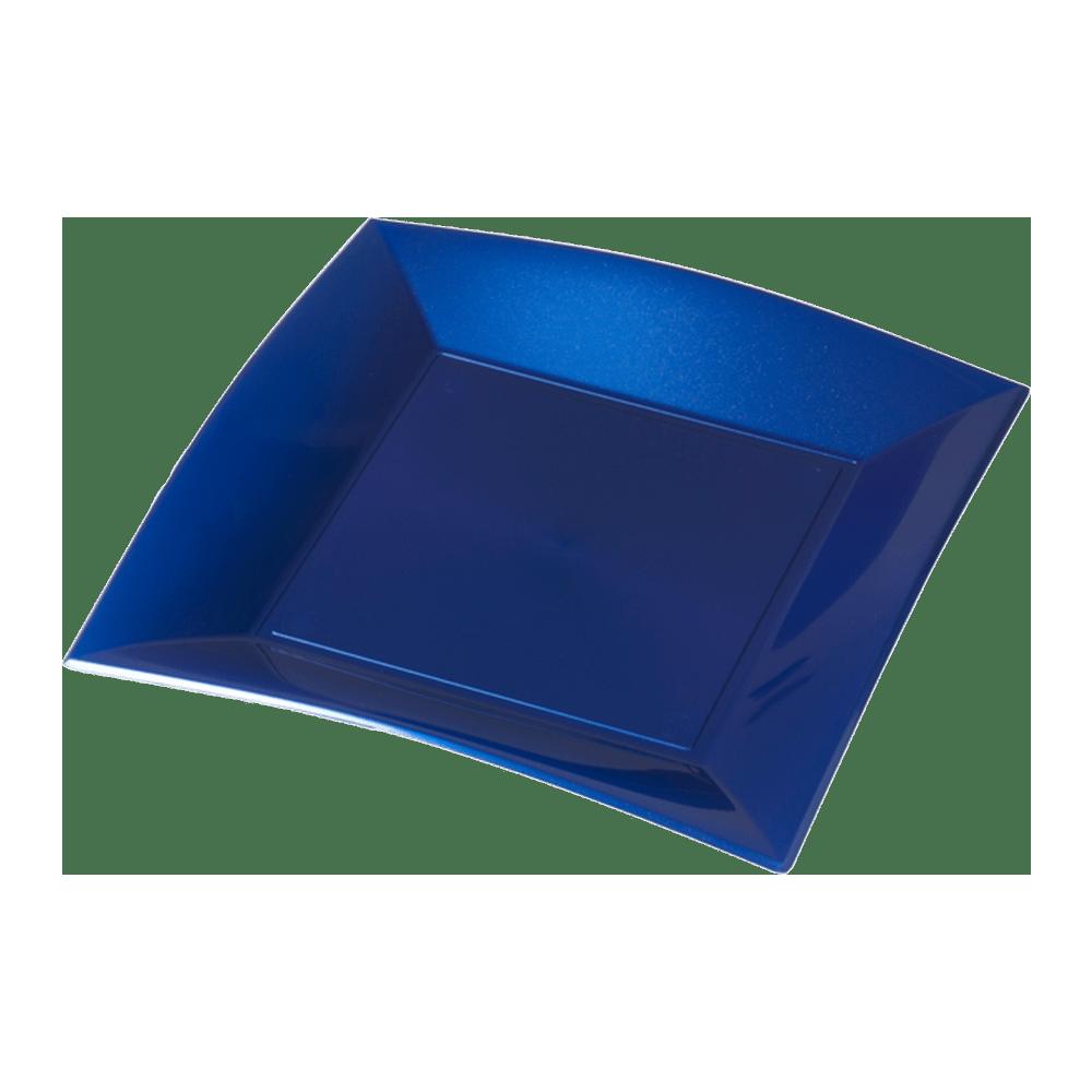 Bord Blauw Parelmoer 230 ml 12 x 25 stuks