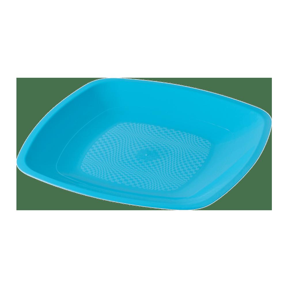 Bord Turquoise 180 mm 12 x 25 stuks