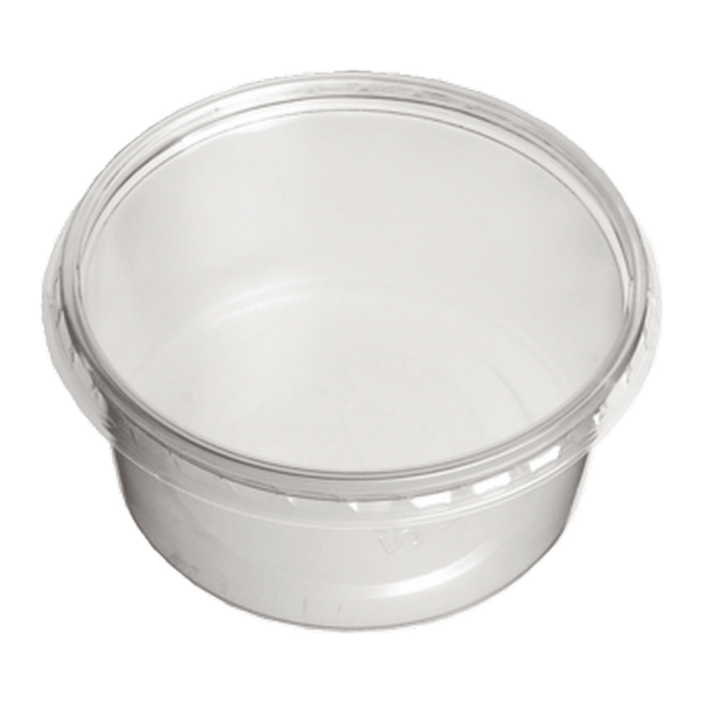 Cup 250 ml Transp. 10 x 100