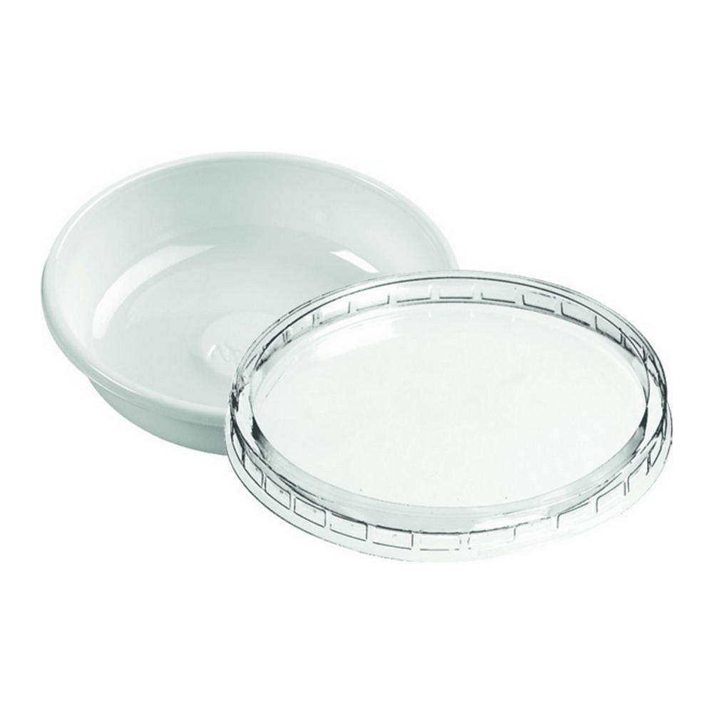 Cup 50 ml wit met deksel 8 x 100 stuks