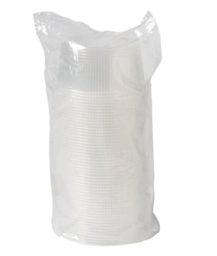Bak met deksel 250 ml 5 x 50 stuks