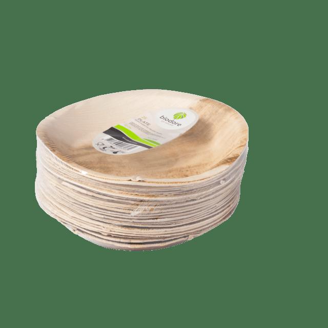 Biodore Bord Palmblad 22 cm 4 x 25 stuks