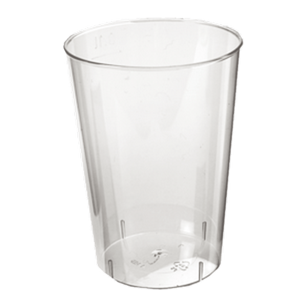 Frisdrankglas zonder voet 100 ml 4 x 100 stuks