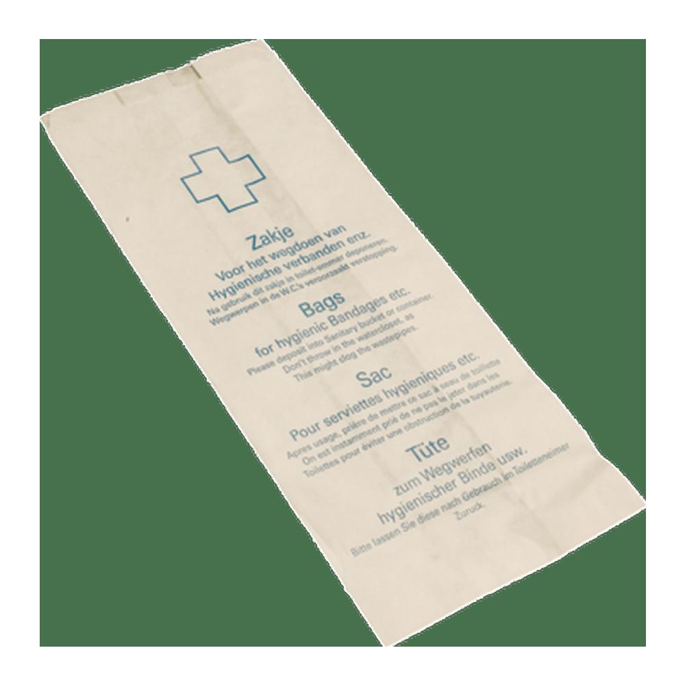 Papieren Hygiënezakjes 500 stuks