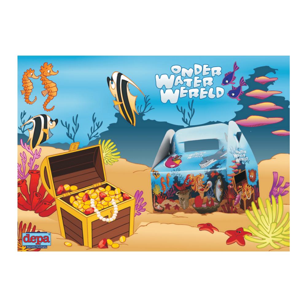 Kidsbox Onderwater zonder speeltjes 50 stuks