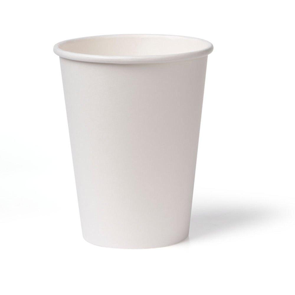 Koffiebeker karton 340 ml wit