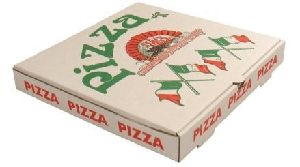 Pizzadoos Americano 33 x 33 x 4 cm 50 stuks