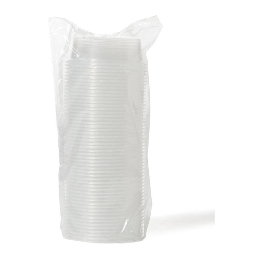 Sausbakje 50 ml transp. 20 x 50 stuks