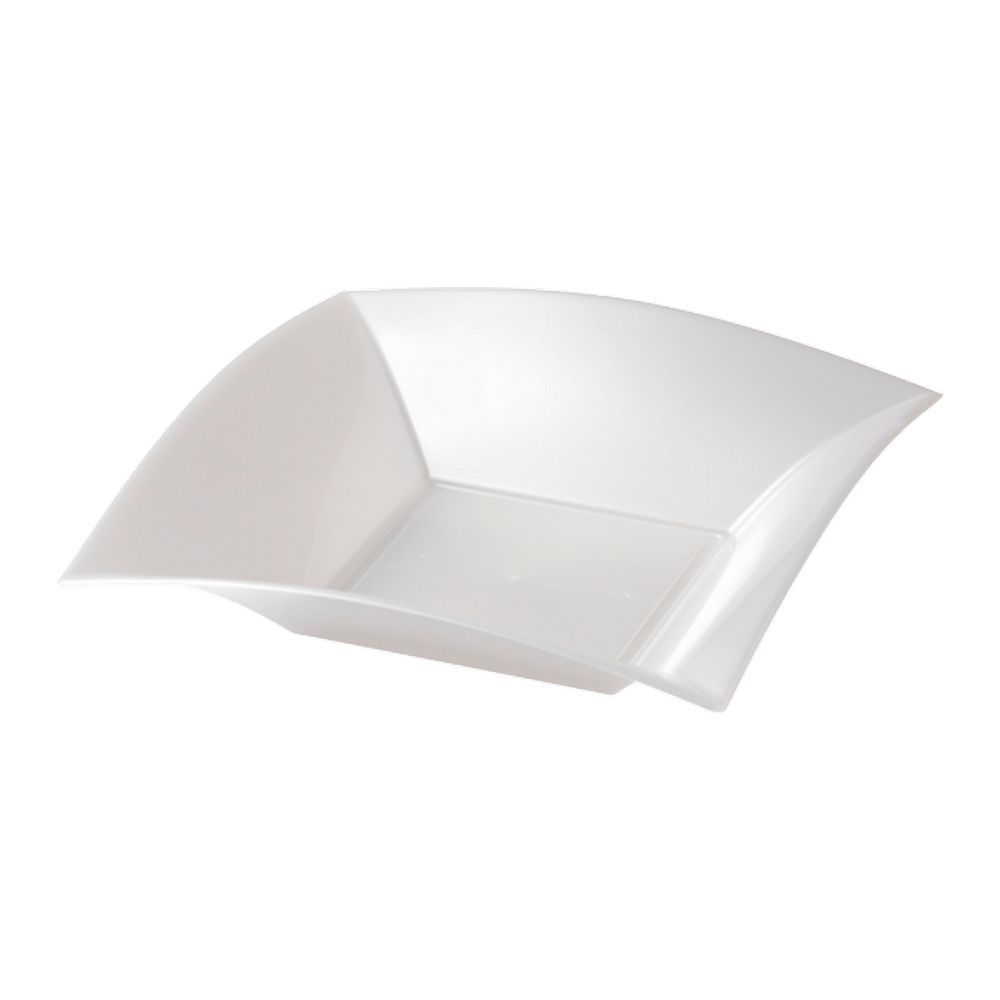 Soepbord Wit Parelmoer 180 ml 12 x 25 stuks