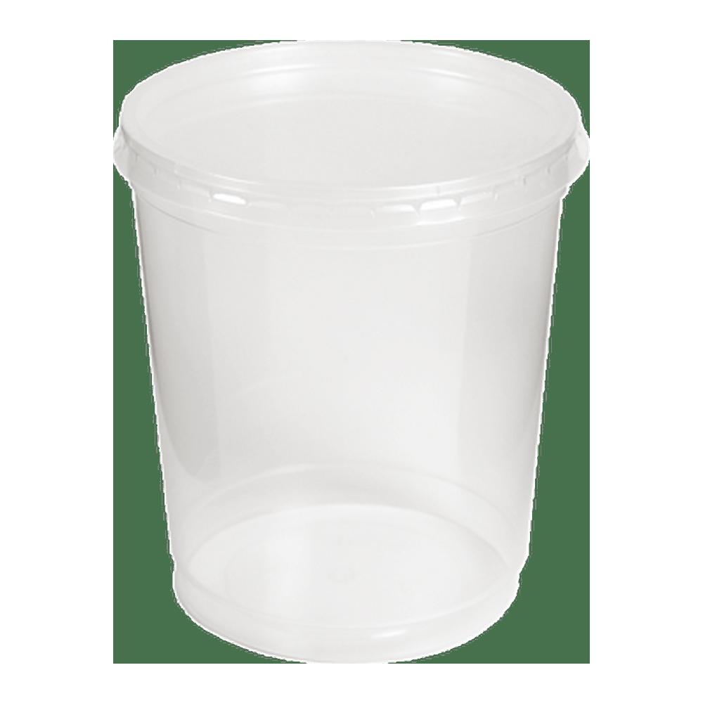Soeppot met deksel | 1000 ml | 10 x 25 stuks