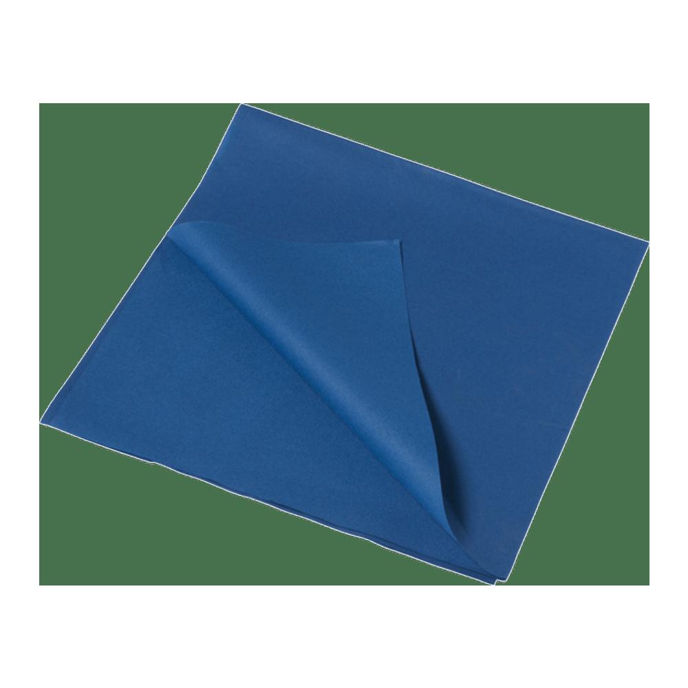 Tafelkleed Airlaid 80 x 80 cm blauw