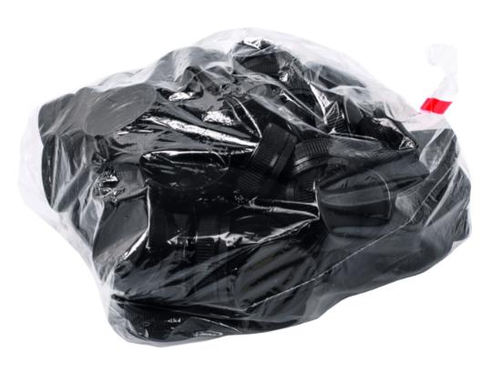 Dop zwart 100 stuks