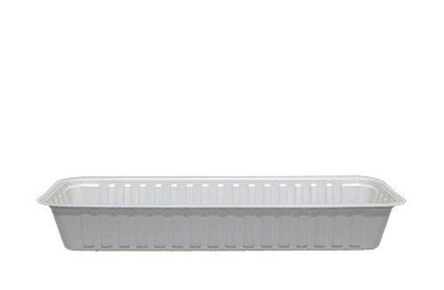 Frikandelbakje | A16 | Bak breed | Wit | 1000 stuks