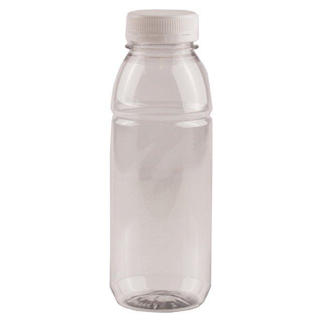 Fles met dop | Verzegelbaar | 330 ml | 4 x 20 stuks