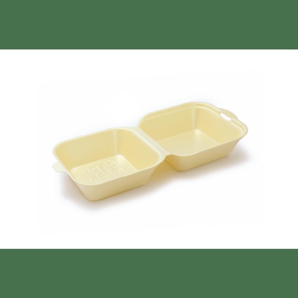 Hamburgerbox 135 x 135 x 70 mm beige