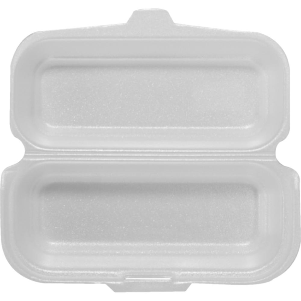 Hotdog-loempiabox 210 x 95 x 65 mm wit 500 stuks