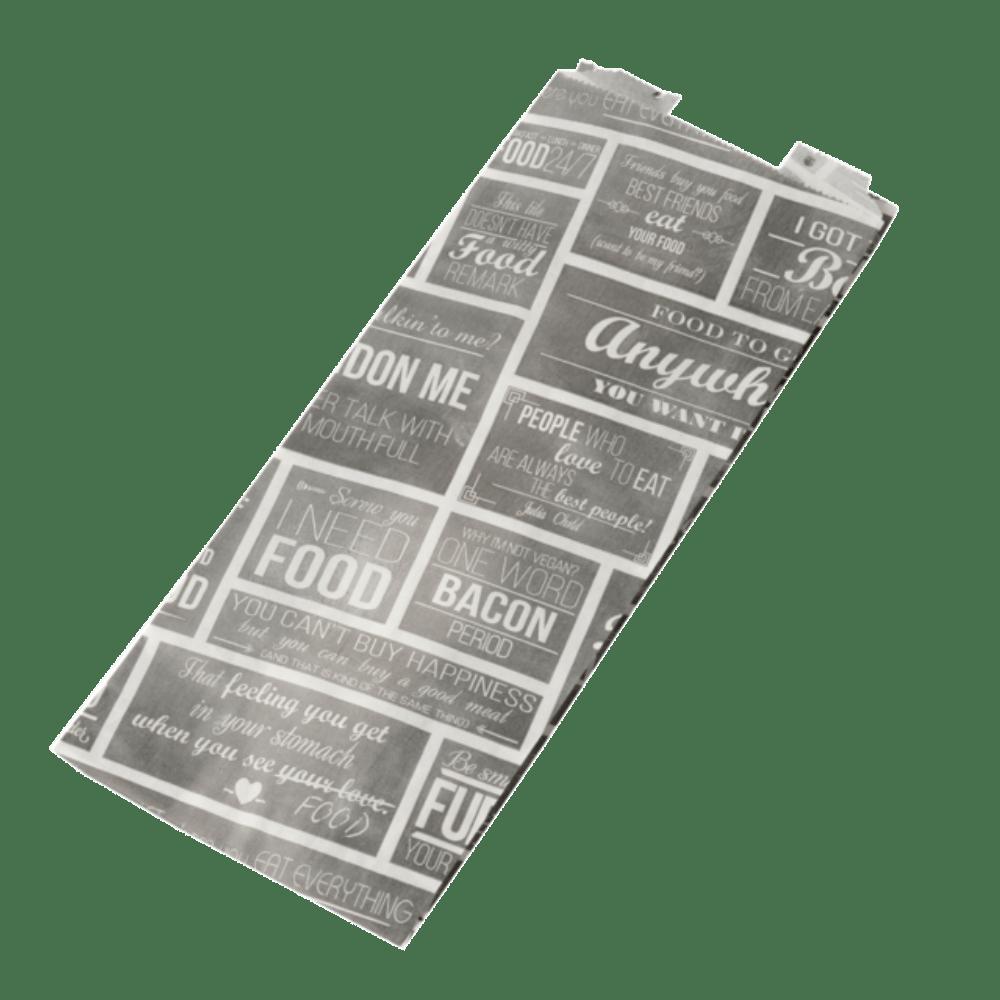 Pubchalk Snackzak Ersatzpapier 6 x 100 stuks 130 x 320 x 80 mm