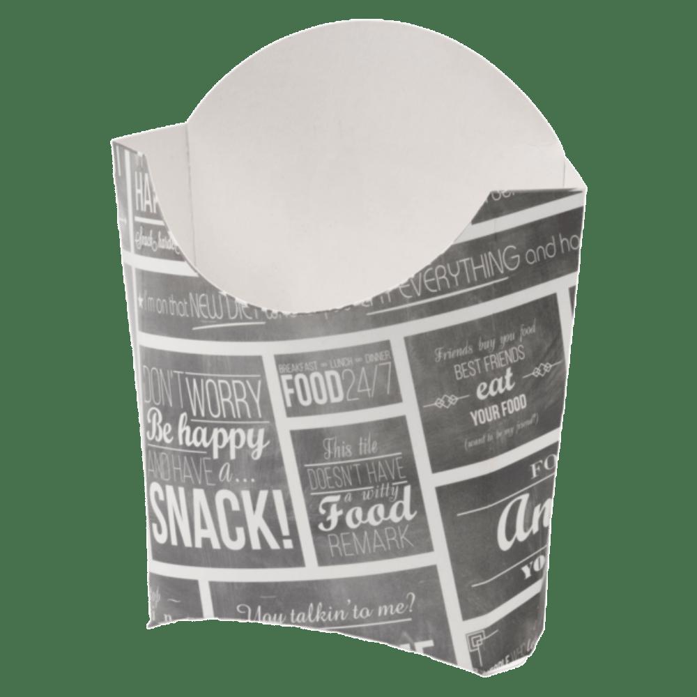 Bak Karton en coating 94 x 41 x 135 mm wit-grijs