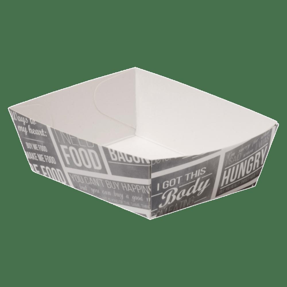 Pubchalk Bak Karton en coating 90 x 70 x 35 mm wit-grijs 400 stuks