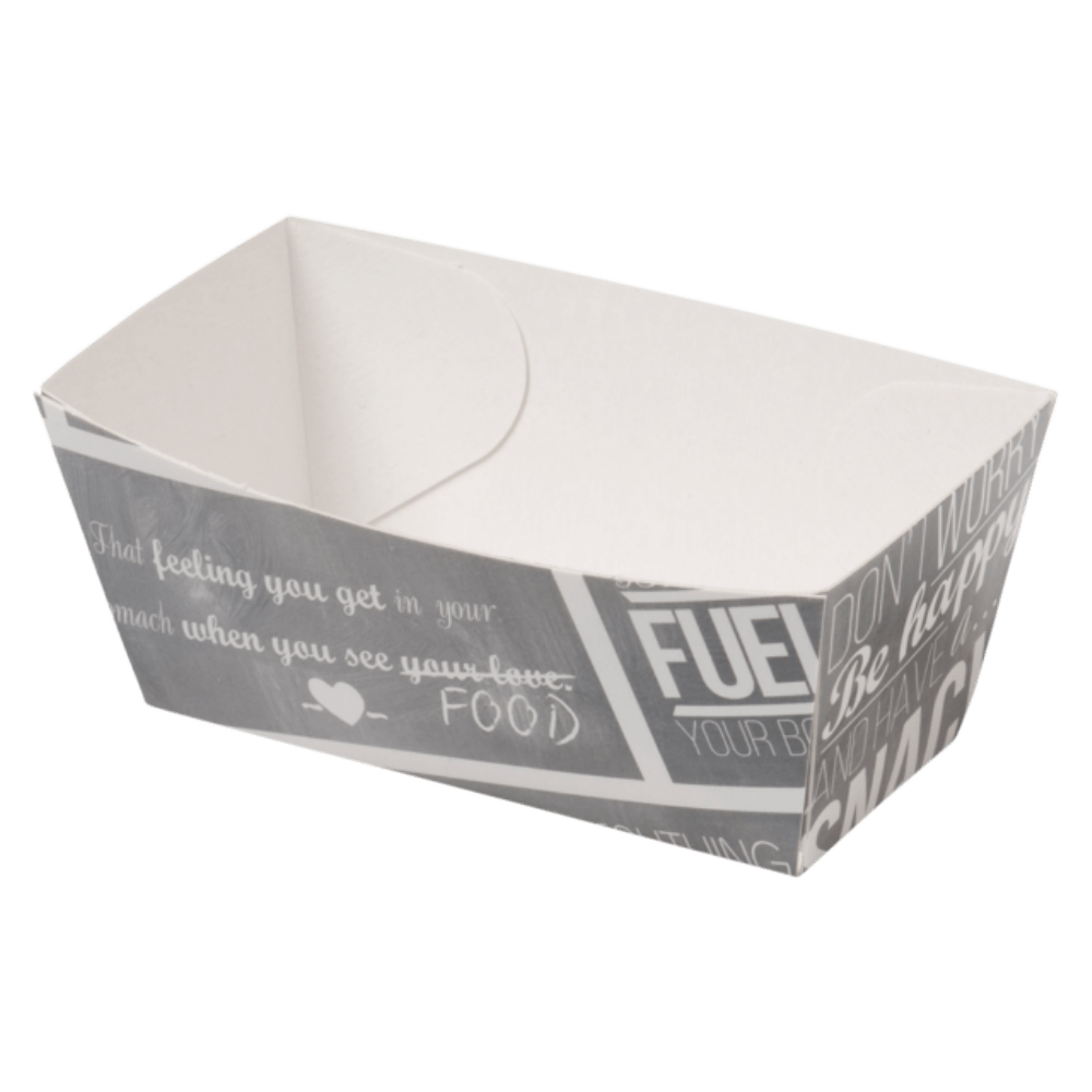 Bak Karton en coating 70 x 30 x 35 mm wit-grijs