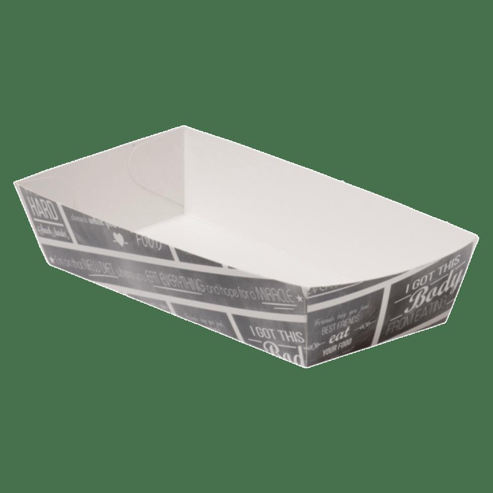 Pubchalk Bak Karton en coating 150 x 70 x 35 mm wit-grijs
