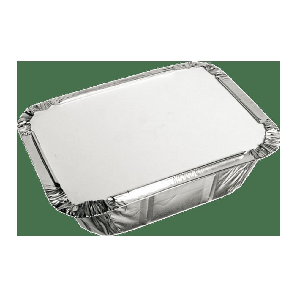 Aluminium Bak  met deksel 12 x 10 x 3 cm 10 x 25 stuks