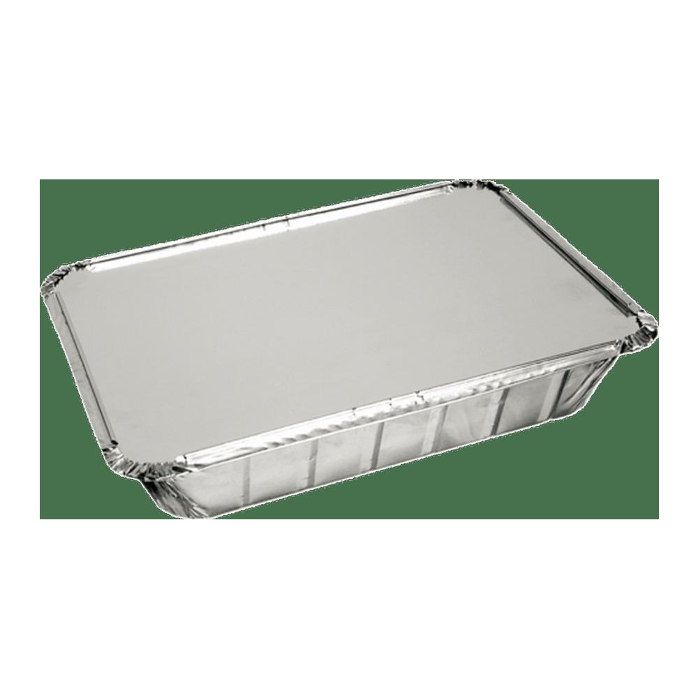 Aluminium Bak met deksel 21 x 15 x 4 cm | 10 x 25 stuks