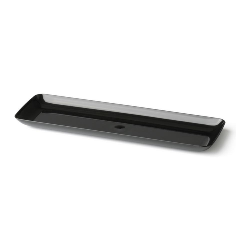 Amuseschaal zwart 6 x 40 stuks