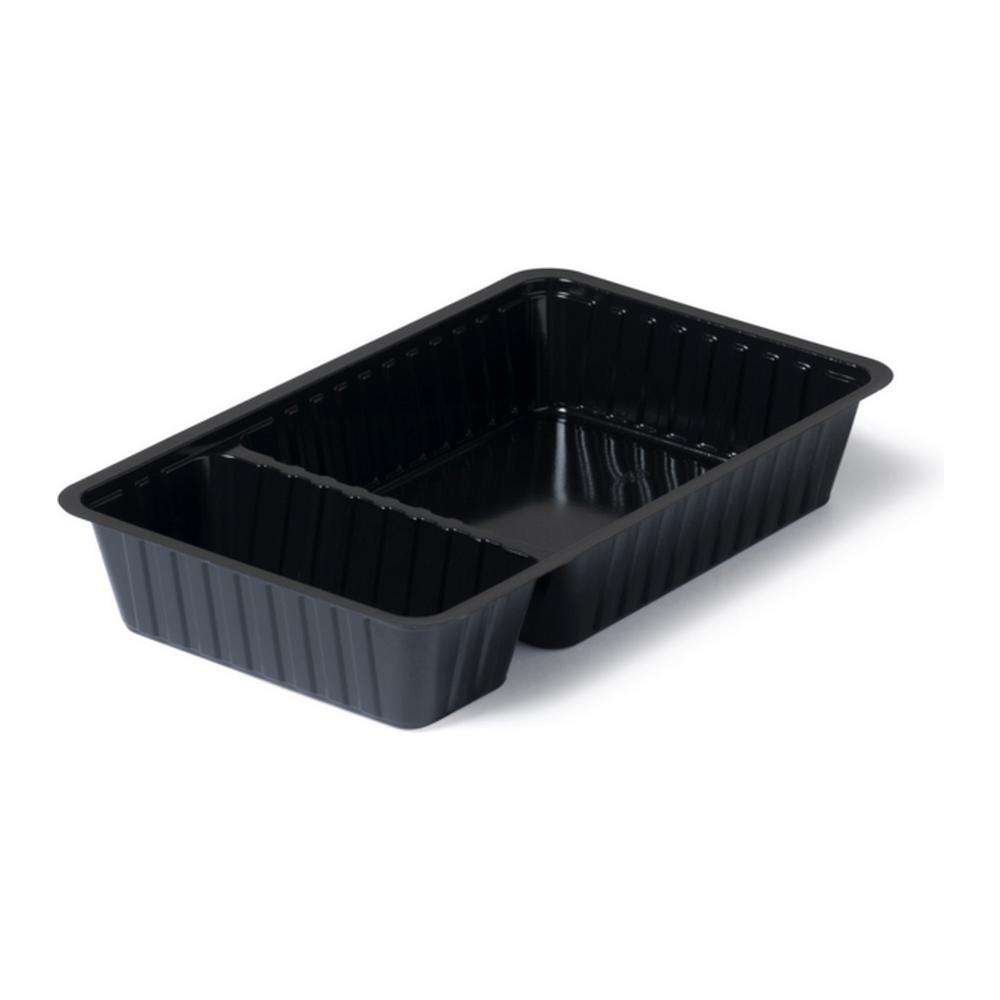 Plastic bakjes | Zwart | 500 stuks