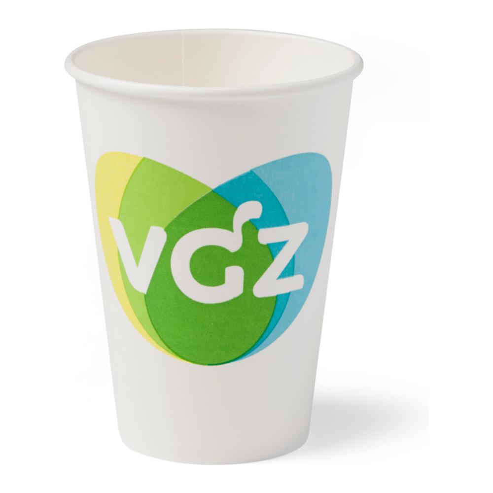 Hot Cup wit 180 ml 25 x 100 stuks