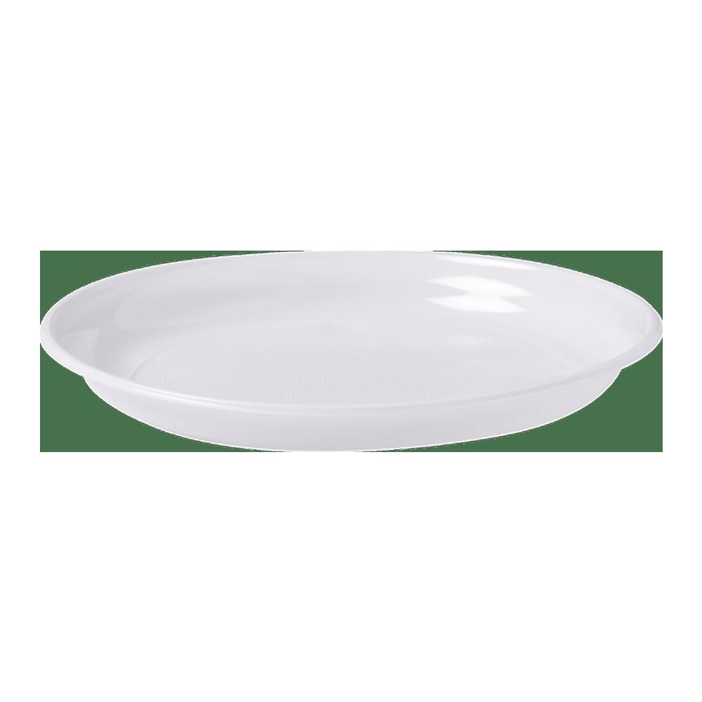 Plastic bord | 1-vaks | 22 cm | 800 stuks
