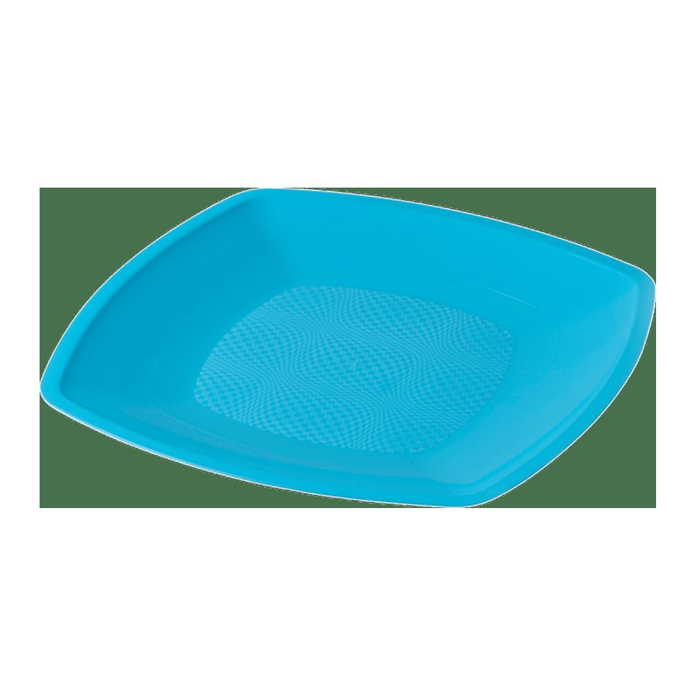 Bord Turquoise 230 ml 12 x 25 stuks