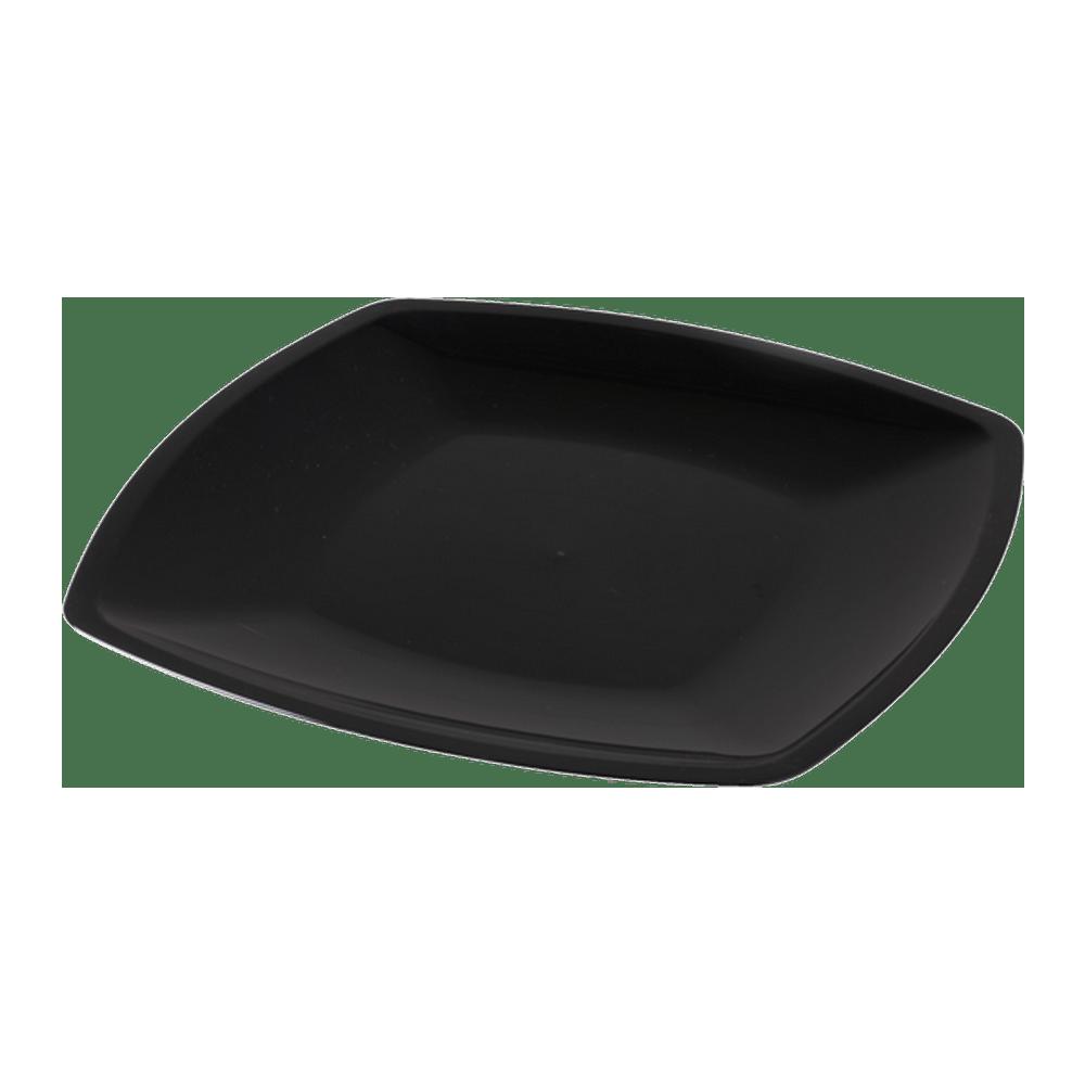 Bord Vierkant Zwart 300 mm 12 x 12 stuks