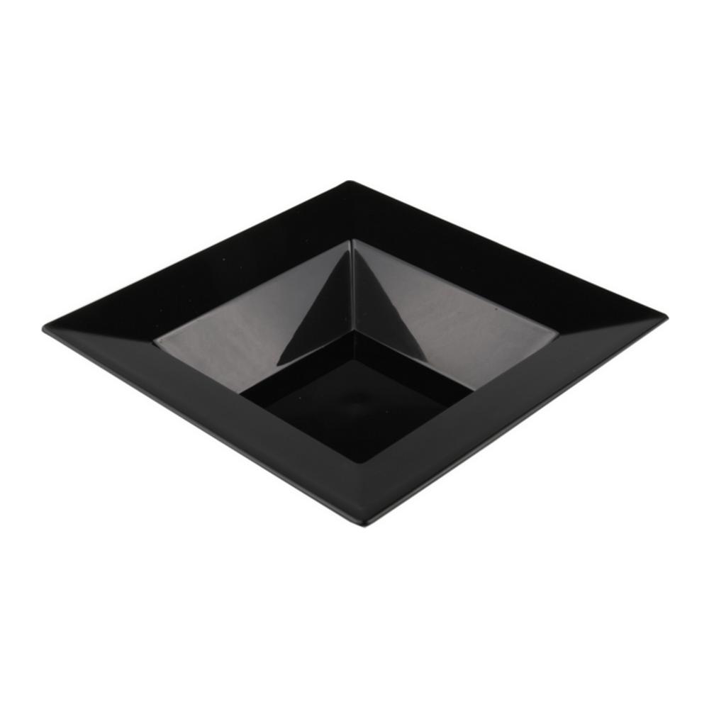 Bord Diep zwart 145 ml 10 x 20 stuks