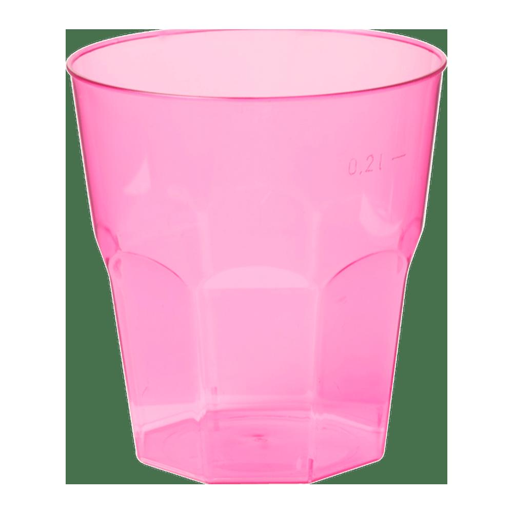 Brasserieglas 220 ml Fuchsia 36 x 25 stuks
