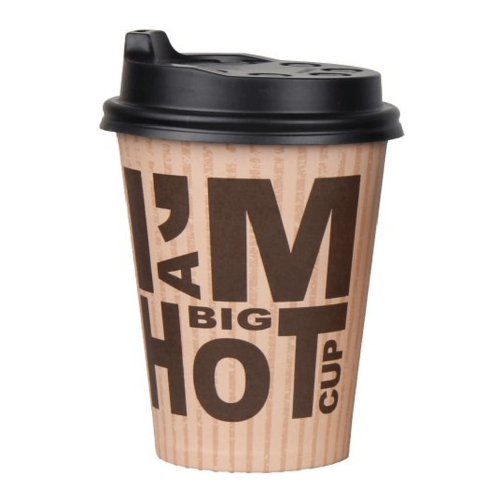 Deksel I'm a Big Hot Cup 350 ml 20 x 50 stuks