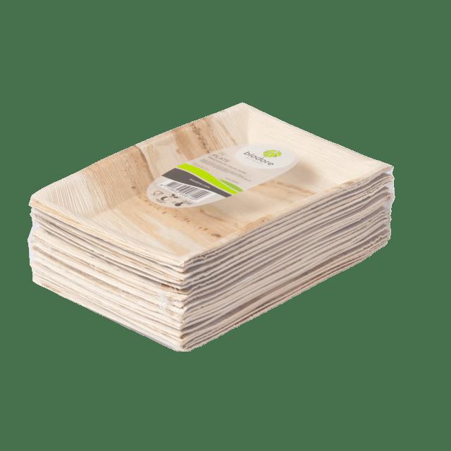 Biodore Bord Palmblad 25 x 16 cm 25 stuks