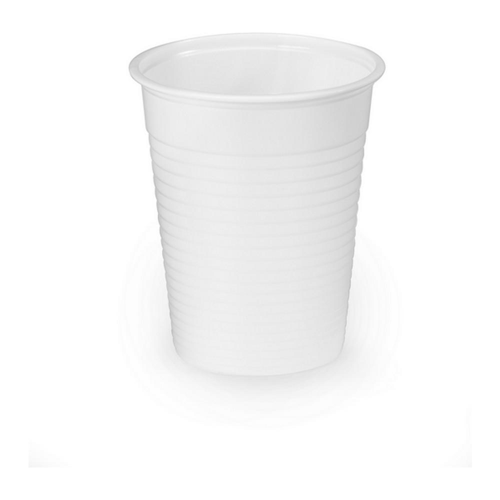 Drinkbeker wit 180 ml 30 x 50 stuks