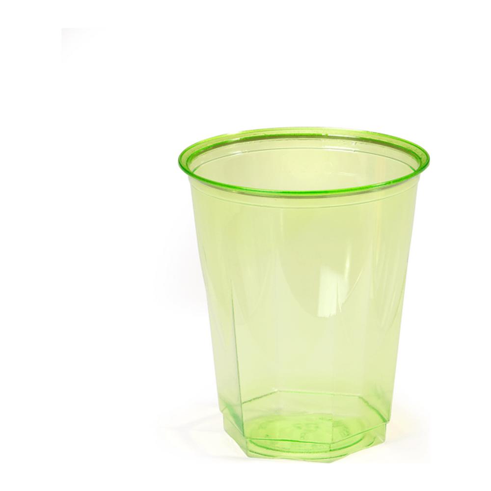 Glas lime 15 x 10 stuks